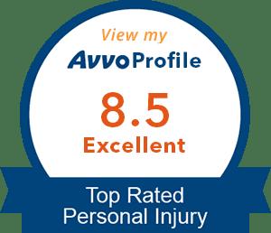 Avvo rating of 8.5 for Megan Hale