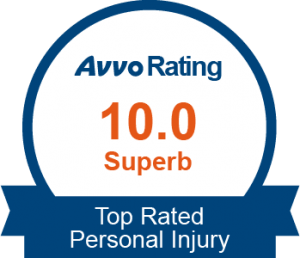 Avvo Rating 10.0 - Superb | Top Rated Personal Injury
