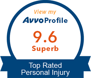 Avvo rating of 9.6 for Blaine Tamaki