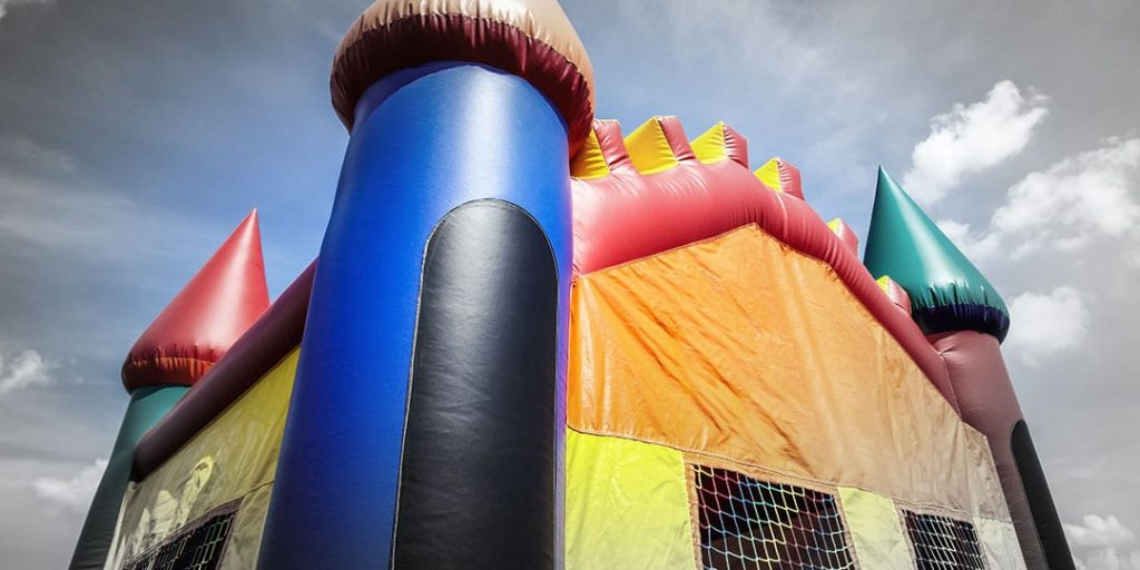Bounce Houses like this one can be dangerous if not properly secured. They can be lifted by the wind like the recent incident in Zillah, WA