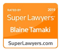 Super Lawyer Blaine Tamaki 2019