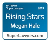 Super Lawyers Rising Stars Megan Hale 2019