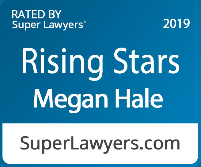 Megan Supper Lawyer badge